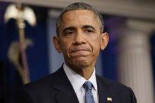 Obama con cara de preocupación