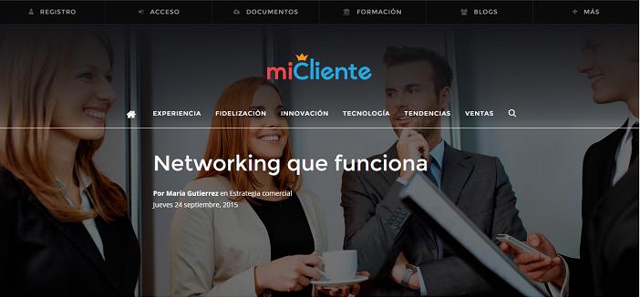 networking que funciona MI CLIENTE