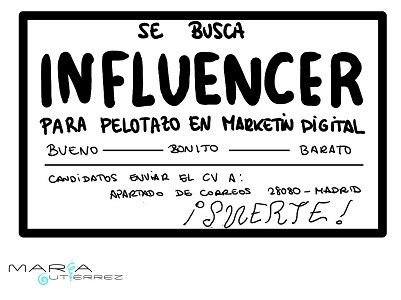 se busca Influencer