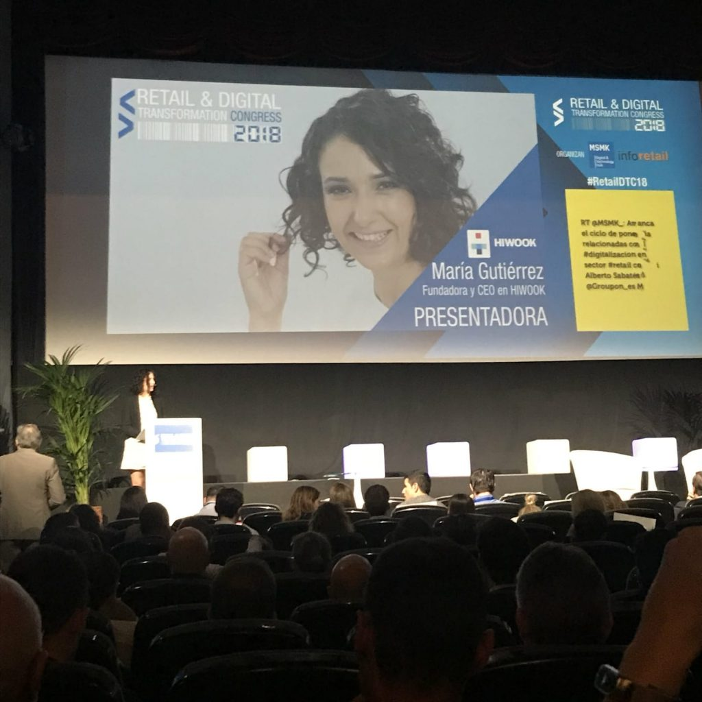 Presentadora Retail &Digital Transformation Congress 2018